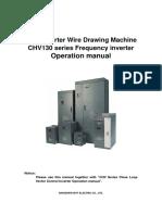 CHV130 English manual