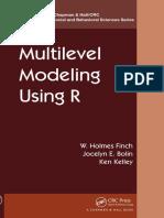 Multilevel modeling using R - Finch Bolin Kelley