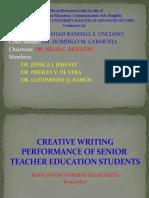 RESEARCH PRESENTATION- THESIS-PSU-SAS