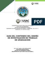 GUÍA PARA ELABORACIÓN DE PROTOCOLO DE TESIS INGENIERIA QUIMICA Y AMBIENTAL