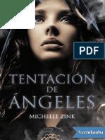 Tentacion de angeles - Michelle Zink.pdf