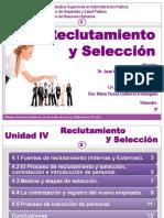 RECLUTAMIENTO Y SELECCION DE RECURSOS HUMANOS