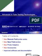 Advances in Tube testing 2008