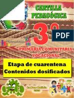 CARTILLA 3 DE PRIMARIA
