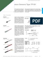Sensors Pt100 TF Datasheet e ZIEHL-1