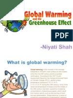 Global Warming Clg Ppt