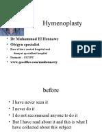 hymenorrhaphy