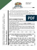 HRWF Redwood Alert  November 2005