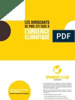 2020 07 08 - Bpifrance Le Lab_ Etude Climat