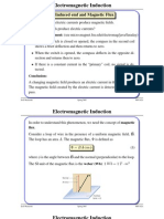 Electromagnetic Inductiont