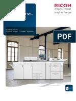 Ricoh Pro C901_C901s. Arts graphiques + Imprimante de production Imprimante Copieur Télécopieur Numériseur. monochrome et couleur..pdf