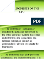 Components of CPU.ppt