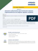 Matematica5 Semana 14 - Dia 1 Razones Trigonometricas II Ccesa007