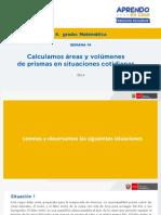 Matematica4 Semana 14 - Dia 4 Solucion Matematica Ccesa007