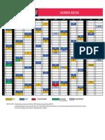 Nouveaux calendriers 2020-2021 de Pro D2 et Top 14