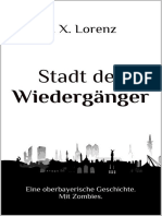 Lorenz, F. X. - Stadt der Wiedergänger (2015)