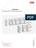 Contactori modulari