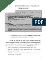 10. tema organizarea si      functionarea Politiei de Proximitate
