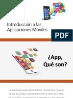 Introducción a las Aplicaciones Móviles