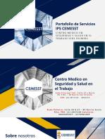 Portafolio de Servicios IPS CEMESST Palmira