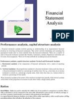 5- Fin Statement Analysis