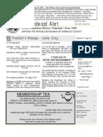 10 HRWF Redwood Alert October 2006