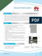 HUAWEI Outdoor Wall-mounted Power System TP4860C Datasheet