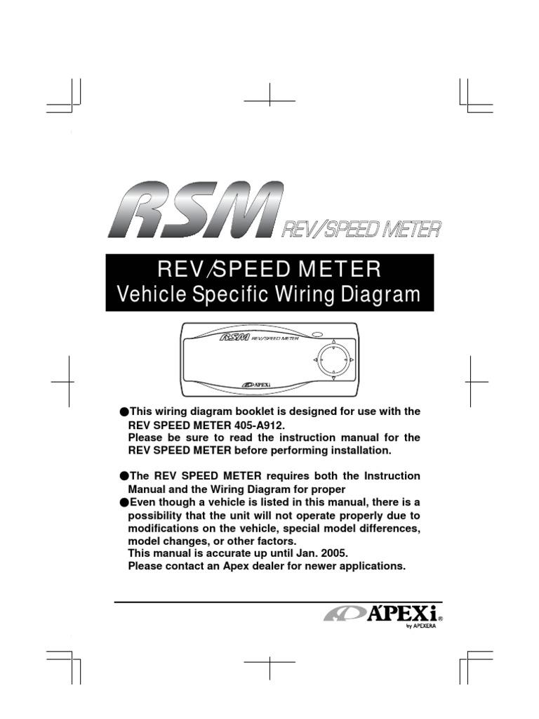 apexi rsm automobile layouts manufacturing companies of japan rh scribd com Apexi SAFC II Apexi AFC