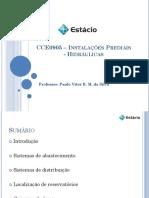CCE0905 - Instalações Hidráulicas 3
