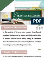 Teacher-Readiness