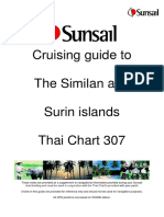 Similan and Surin Islands Cruising guide