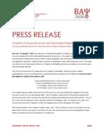BAP Press Release