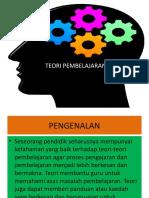 Teori Pembelajaran edited