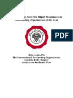 BAPOrganization of the Year