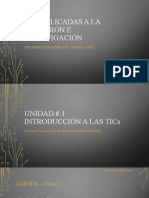 TICs Aplicadas a la Profesion e Investigacion - Unidad 1 - Clase 1 (1)
