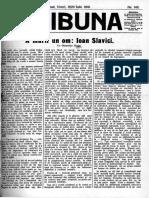 articol moartea lui ioan Slavici scris de O Goga