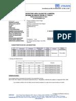 Advantage EP 950 Certificado Teste FJoint no Chile N17025-01