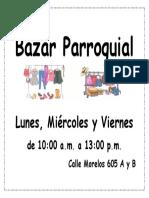 Bazar Parroquial