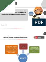 APECTOS TEC_PROCESO DE FORMALIZACIÓN MINERA