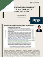 NEGLIGENCIA EN LA COMPRA Y USO DE MATERIALES DE CONSTRUCCIÓN (1)
