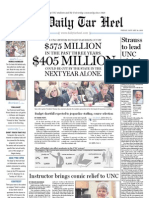 The Daily Tar Heel for January 14, 2011