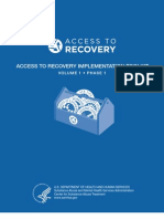 Access to Recovery Implementation Toolkit