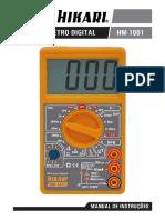 Multimetro HM-1001