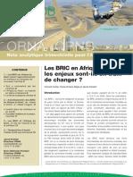 Castel Vincent, Mejia Paula Ximena. - Les BRIC en Afrique du Nord_ les enjeux sont-ils en train de changer _.pdf
