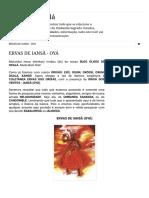 Olhos de Oxalá_ ERVAS DE IANSÃ - OYÁ