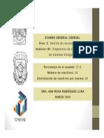 B 1 . Diagnostico de sustentabilidad de sistemas biologicos