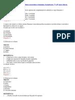 Exercícios sobre sistema reprodutor masculino e feminino