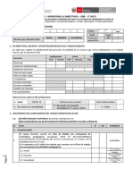 FICHA II - EBR - MONITOREO A DIRECTIVOS - 2do HITO-RVM 097 y 098-2020-MINEDU