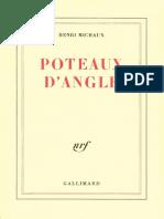 Poteaux d'angle - Michaux, Henri