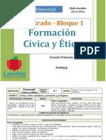 Plan 3er Grado - Bloque 1 Formación C y E (2015-2016)